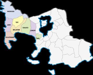 Batangass 1st congressional district