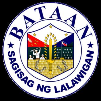 Bataan - Image: Ph seal bataan 2
