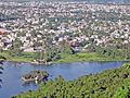 Phewa Lake, Talbarahi Temple and Pokhara City.JPG