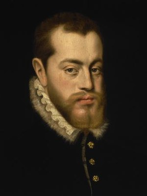 Philip II of Spain - Philip, in the prime of his life, by Giacomo Antonio Moro