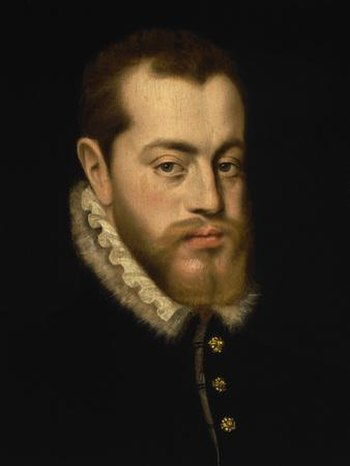 English: Philip II of Spain.