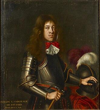 Philip, Landgrave of Hesse-Philippsthal - Image: Philipp von Hessen Philippsthal (1655 1721)