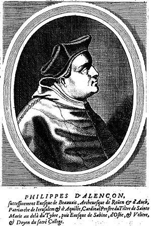 Philippe of Alençon - Cardinal Philippe of Alençon