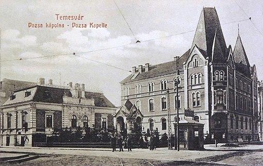 Piata Sfanta Maria Timisoara 1910-2