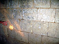 Picquigny château (prison) graffiti des Templiers) 1.jpg