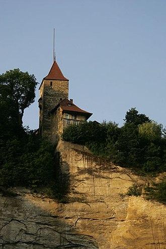 Fribourg - Fribourg Tour de Bourguillon