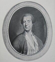 Pierre Alexandre Du Peyrou (1729–1794), ein reicher Bürger von Neuchâtel und Herausgeber des Gesamtwerkes von Jean-Jacques Rousseau (Quelle: Wikimedia)