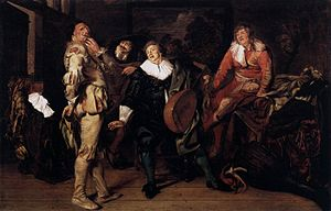 Pieter Codde - Actors' Changing Room - WGA5107