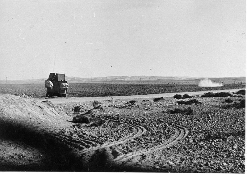 מבצע חורב - קרב שריון בשריון בפתח המשרפה