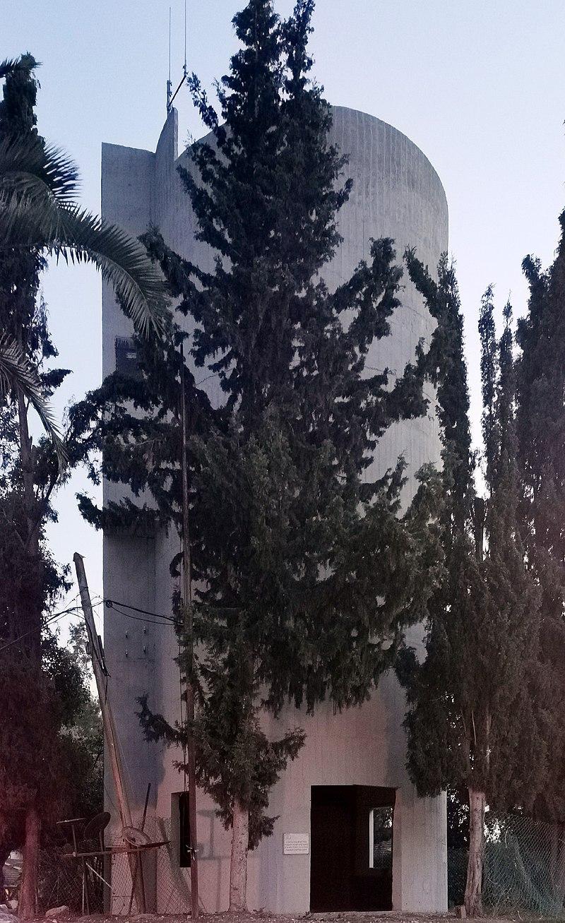 מגדל המים בחולדה