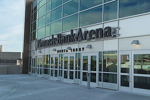 Pinnacle Bank Arena - Image: Pinnacle Arena North Entrance