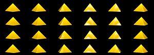 Square pyramid - Image: Pirâmide quadrada