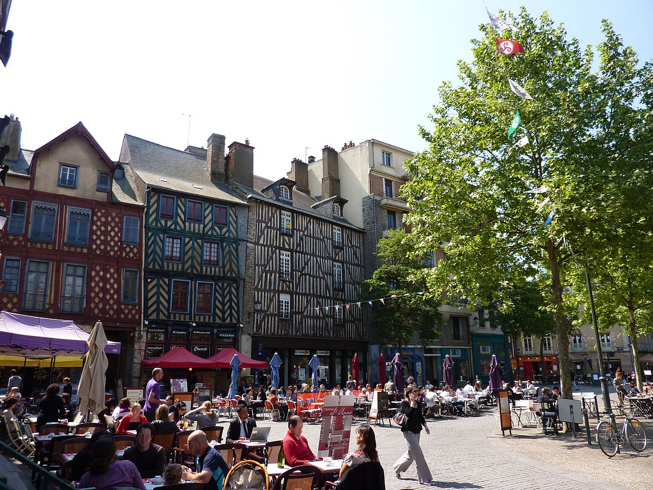 Image illustrative de l'article Place Sainte-Anne (Rennes)