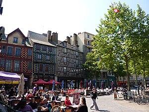 Ille-et-Vilaine - Image: Place Saint Anne Rennes