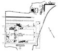 Plan of the eastside of the Ramesside Temple in the Asasif.png
