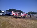 Plane landed north of Roseburg on I-5 (9362374064).jpg