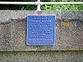 Plaque on Bowyer's Bridge, near Little Easton, Essex. - geograph.org.uk - 1371063.jpg