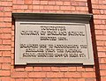Plaque on the Library, Richmond Road, Towcester - geograph.org.uk - 453467.jpg