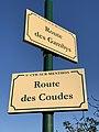 Plaques Route Gambys & Route Coudes - Saint-Cyr-sur-Menthon (FR01) - 2020-10-31 - 1.jpg