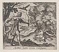 Plate 16- Apollo Killing Coronis (Appolinis sagitta Coronis transfigitur), from Ovid's 'Metamorphoses' MET DP864245.jpg