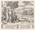 Plate 23- Psyche on the order of Venus departing to find the golden fleece, from the Story of Cupid and Psyche as told by Apuleius MET DP862829.jpg
