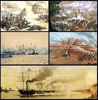 Platine War 1851–1852 war between Argentina and Brazil