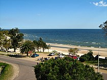 Playa Mansa from the Planeta Palace Hotel, Atlantida, Uruguay.jpg