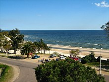 Playa Mansa from the Planeta Palace Hotel, Atlantida, Uruguay.jpg