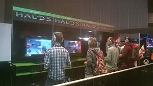 Halo 5: Guardians - Halo 5: Guardians demo booths at PAX Australia 2015
