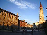 Plaza de las catedrales, Lonja y Seo