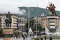 Ploštadot vo Skopje, Macedonia.jpg