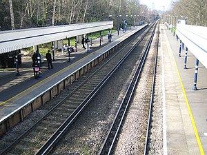 Plumstead railway station - Image: Plumstead Railway Station