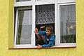 Podczas wizyty w miejscowej szkole trwały lekcje (6163298018).jpg