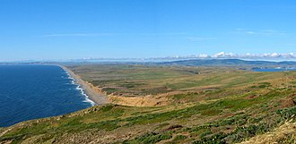 Point Reyes - South Beach and Point Reyes Peninsula