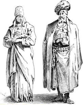 History of the Jews in Poland - A Jewish couple in Poland, around 1765.