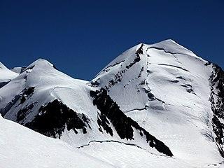 Castor (mountain) mountain in the Pennine Alps