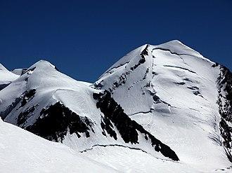 Castor (mountain) - Image: Pollux Castor