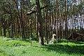 Pomnik w lesie - panoramio - Rafał Klisowski.jpg