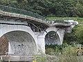 Pont Albertin après l'explosion (vue amont) - Grignon, octobre 2018.jpg