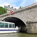 Pont Saint-Michel. Франция. Париж. Мост Сен-Мишель - panoramio.jpg