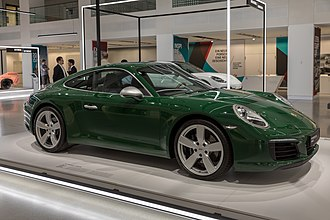 Porsche 911 - The 1 millionth 911 produced on display at Volkswagen Group Forum, Berlin