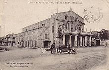 Port Louis ai primi del Novecento