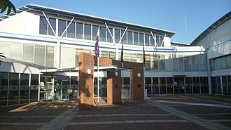 Port Stephens Council - The Port Stephens Council chambers in Raymond Terrace, the council's centre of government