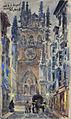 Portada de la Catedral de Burgos - Manuel Ruiz Morales.jpg