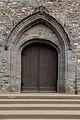 Portail de l'église Saint-Melaine de Vignoc, France.jpg