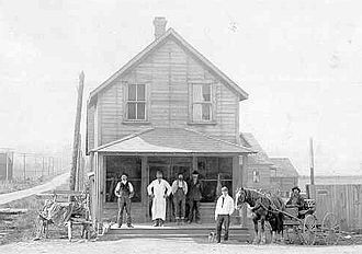 Langley, British Columbia (district municipality) - Porter's General Store in Murrayville