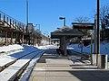 Porter commuter platform on sunny day.JPG