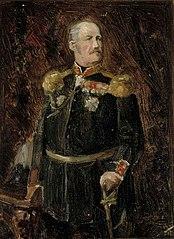Portrait of General Adjutant, Count Adolf Aminoff, Sketch