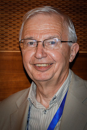 Jean-Marie Lehn - Jean-Marie Lehn after a lecture at ETH Zurich, 2012