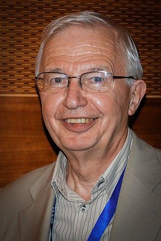 Jean-Marie Lehn - Jean-Marie Lehn after a lecture at ETH Zurich, 2012
